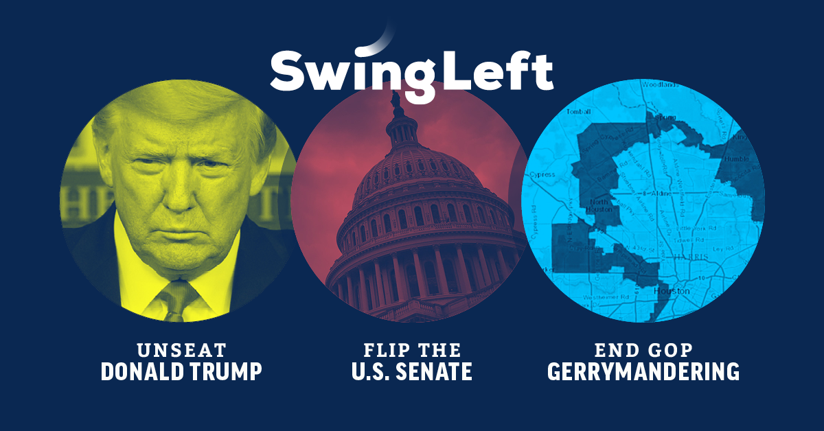 Swing Left | Take Back the House